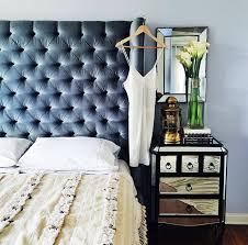 Velvet Tufted Headboard Make Your Room Look More Expensive With A Blue Velvet Tufted