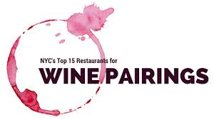 New York     s Top    Restaurants for Wine Pairings     Renzell Renzell Ever mistakenly worn two shoes from two different pairs  Failed miserably setting up two friends on a date  Pairing things up doesn     t come naturally to all