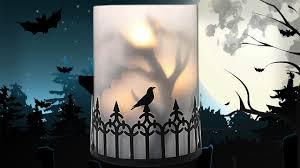 halloween candlestick holders yankee candle