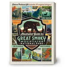 national parks 59 piece postcard set u2013 anderson design group