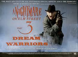 a nightmare on elm street 3 dream warriors u2014 movie posters