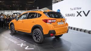 suv subaru xv subaru xv gets sharper with a new platform more powerful engine