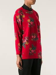 kenzo vintage floral print sweater farfetch