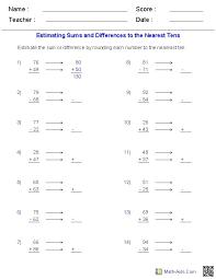 12 best rounding estimating images on pinterest fourth grade