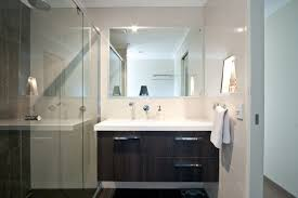 nice bathroom designs nice bathroom ideas with modern frameless square beveled vanity