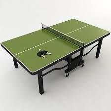 Ping Pong Table Cheap 3d Model Ping Pong Table Cgtrader