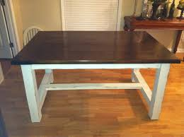 kitchen table feelinggood diy kitchen table plans trestle