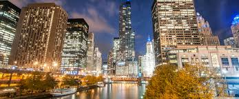 3440 X 1440 Wallpaper New York by Chicago River Night Autumn 4k Hd Desktop Wallpaper For 4k