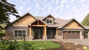 ranch craftsman house plans prairie style house plans ranch youtube
