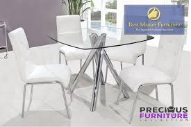 best master t244bc white dining chair set of 2