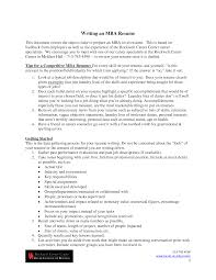 career objective for mba resume cover letter sample resume for mba application sample resume for cover letter mba resume example sample mba examples samplesample resume for mba application extra medium size