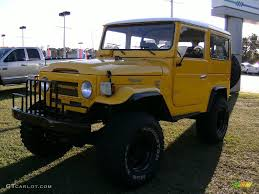 yellow toyota 1977 yellow toyota land cruiser fj40 5355226 gtcarlot com car