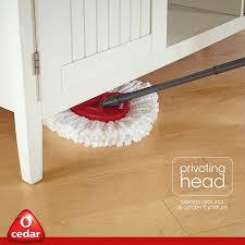 Zep Laminate Floor Cleaner Reviews Amazon Com O Cedar Easywring Microfiber Spin Mop And Bucket Floor