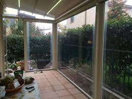 vetrata veranda tende in pvc per verande avec chiusure esterni vetro e vetrate