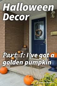 Outdoor Halloween Decor by