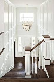 Chandelier Foyer Two Story Foyer With Lancaster Chandelier Transitional