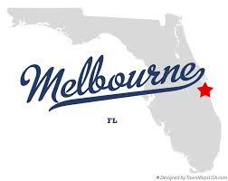 melbourne fl map map of melbourne fl florida