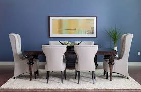 dining room design with blue wall dining decorate