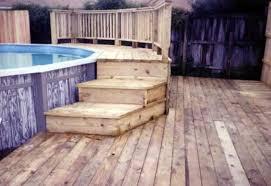 brilliant above ground pool deck kits r inside inspiration
