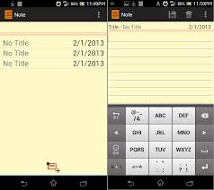 android notepad simple notepad for android codeproject