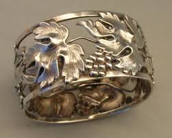 a continental silver napkin ring from a small collection of
