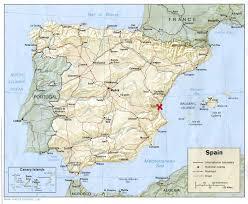 Valencia Spain Map by Spain In Four Parts Part One Valencia Erin Behrenhausen