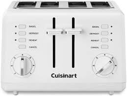Cuisinart 4 Slice Toaster Review Compact 4 Slice Toaster With Bagel Function From Cuisinart Home