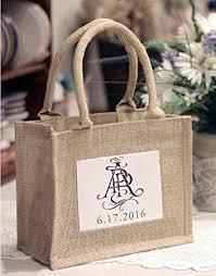 burlap wedding favor bags bagzdepot rustic wedding favor jute tote bags
