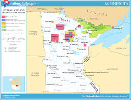 White Lake Michigan Map by Map Of Minnesota Map Federal Lands And Indian Reservations