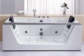 eago left drain rectangular corner whirlpool spa free standing