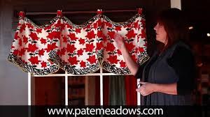Free Valance Pattern Claudine Valance Sewing Pattern Youtube