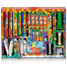 amazon com crayola christmas countdown activity advent calendar