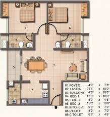 A Floor Plan by Jain La Verde Mare A By Jain Housing In Perungudi Chennai Price
