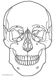 free halloween skeleton coloring pages minecraft colouring anatomy