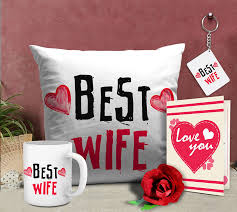 Best Valentine Gifts by Buy Tiedribbons Romantic Valentines Gifts Best Wife Gift Combo