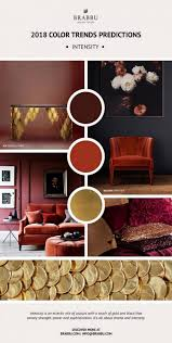 explore now the pantone u0027s color trend predictions for 2018 u2013 daily