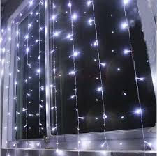 Curtain Christmas Lights Indoors Aliexpress Com Buy White Christmas Lights Outdoor 1 5x1 5m