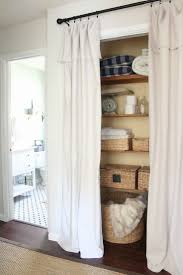 alternatives to closet doors home interior design