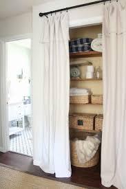 alternatives to closet doors home interior design