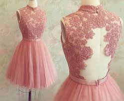 graduation dresses for 6th grade pink graduation dresses high neck appliques sash sweety back