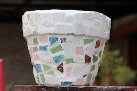 how to make a mosaic flower pot 7 steps with pictures wikihow