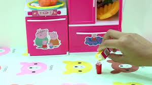 modern toy kitchen peppa ping modern kitchen play set toy kitchen cooking and baking