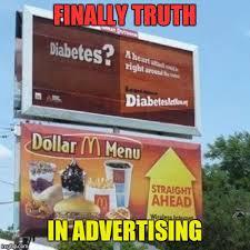 Advertising Meme - finally truth in advertising imgflip