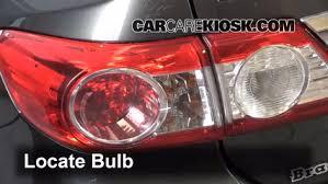 2010 toyota corolla brake light bulb brake light change 2009 2013 toyota corolla 2012 toyota corolla le