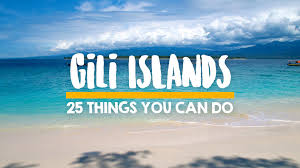 25 things you can do on the gili islands travel blog about