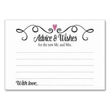 and groom advice cards 28 images of recipe card template for a and groom on the