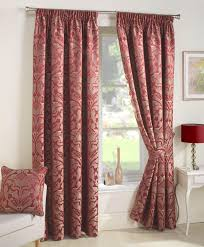 Red Curtains Living Room Red Lounge Curtains Quality Window Curtains Terrys Fabrics