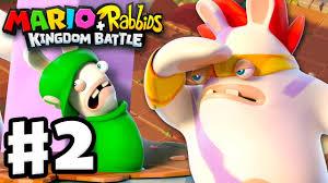 mario rabbids kingdom battle gameplay walkthrough 2