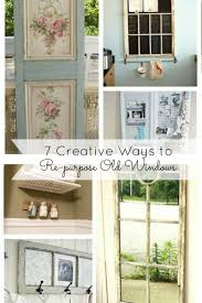 Upcycling Old Windows - 7 creative ways to re purpose old windows mom fabulous