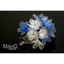 kanzashi hair ornaments hair accessories